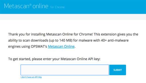 クリックすると展開されるので、「Enter your Api key」という部分をさらにクリック。