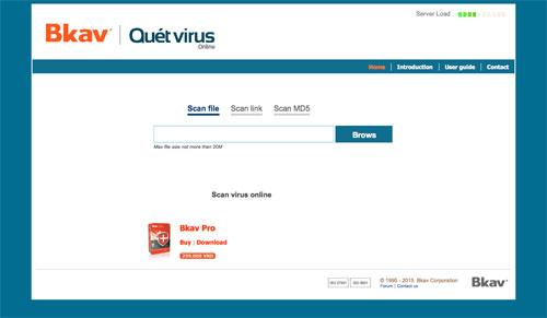 ファイルのウイルス感染を無料でチェックできるオンラインセキュリティー