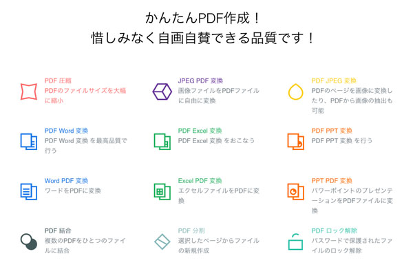 無料でPDFからWord文書に変換してくれるサービス「PDF Word変換 Smallpdf」は高品質