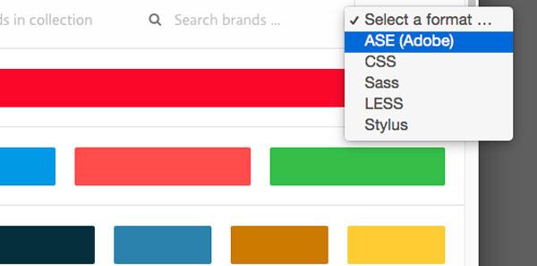 カラー/色で参考にすべきはブランドカラー!ブランドカラーが一目瞭然ですぐわかる「BrandColors」