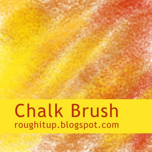 無料で使えるPhotoshop用チョークブラシでデザインにチョークの質感を