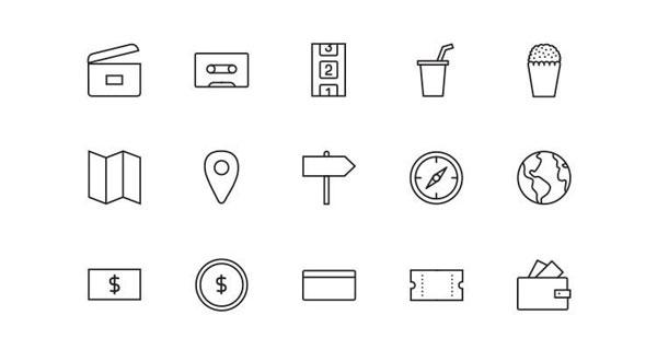 デザインのための無料アイコンセット111