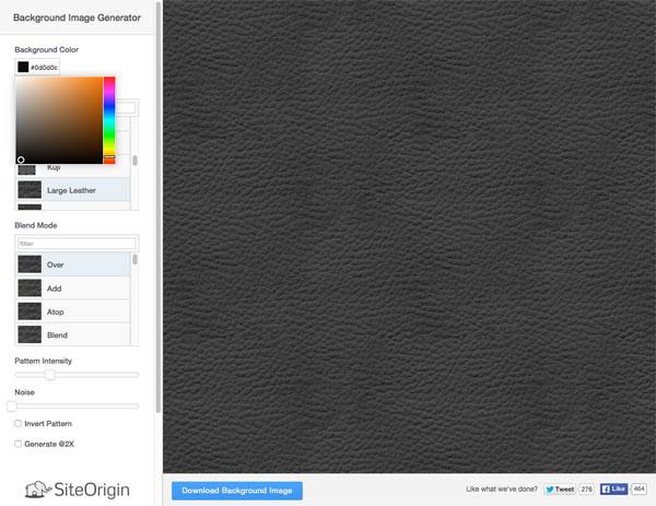 こりゃ便利!約300種類のシームレスパターン画像を簡単に作成できる無料サービス「Background Image Generator」