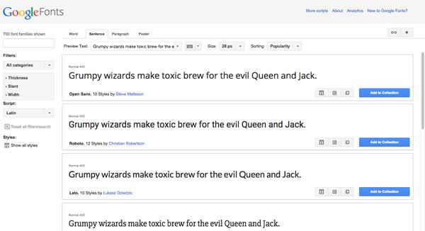 Googleフォントをフル活用!Googleフォントをさらに見つけやすく使いやすくするサービス