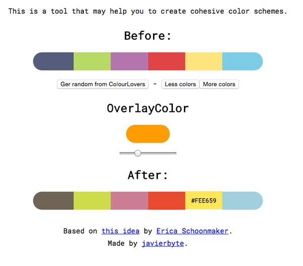 配色が苦手な人必見!違和感のある配色を良い感じのカラーパレットに直してくれる「Cohesive Colors」
