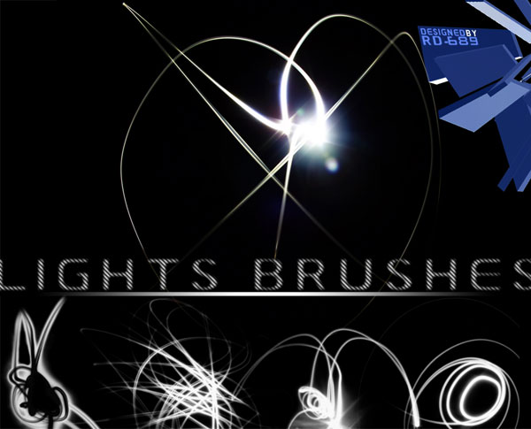 無料で使えるPhotoshop用レンズフレア/光のエフェクトブラシ