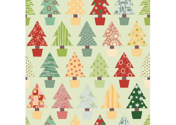 abstract_christmas_tree_seamless_background_vector_267382