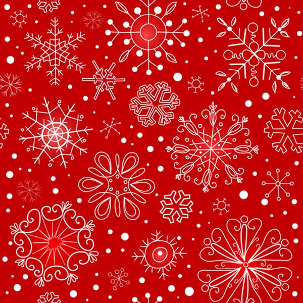 クリスマス用デザイン素材に!無料のIllustrator用シームレスパターン200+