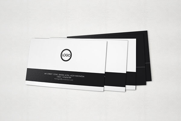 クライアントを魅了する名刺・ビジネスカードの無料PSDモックアップ150+