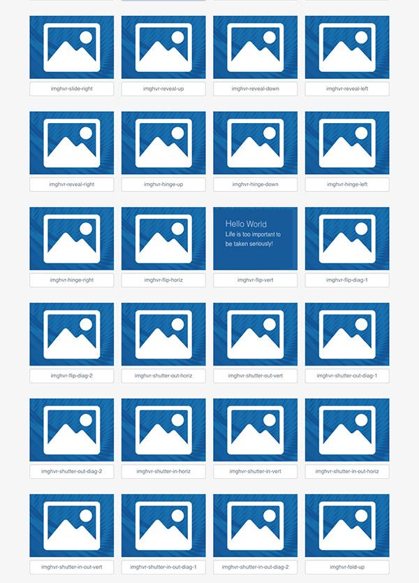 コピペOK! 画像のホバーエフェクトを簡単にアニメーションさせられるimagehover.css