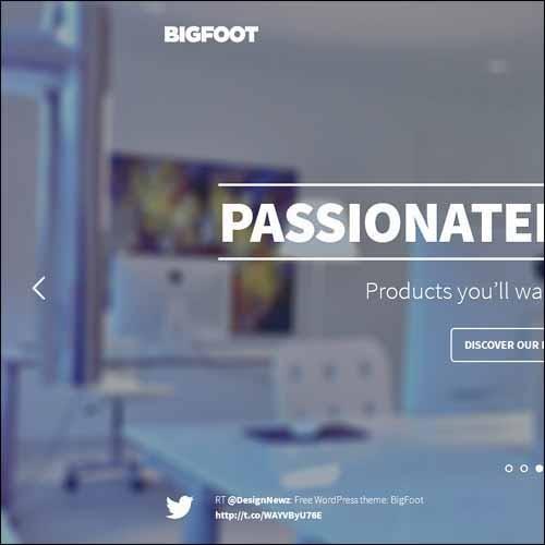BigFoot_WordPress_Theme