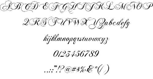 ChopinScript-font