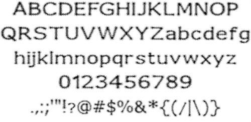 Fuzzy-Xmas-font-
