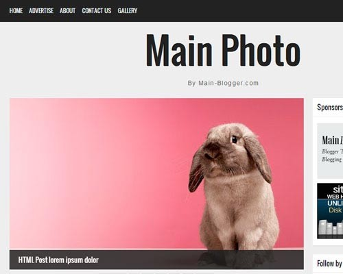 MainPhoto-ResponsiveBloggerTemplate