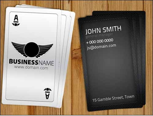 Playing-Card-Business-Card-Free-Template