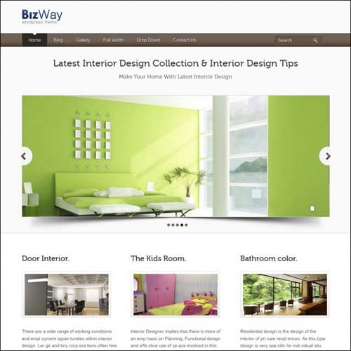 bizway-responsive-wordpress-theme