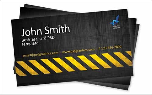 business-card-template-construction-hazard-stripes-theme