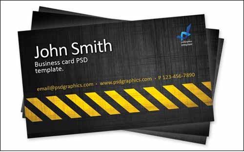 business-card-template-construction-hazard-stripes-theme