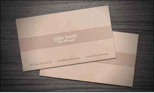 chocolate-business-card