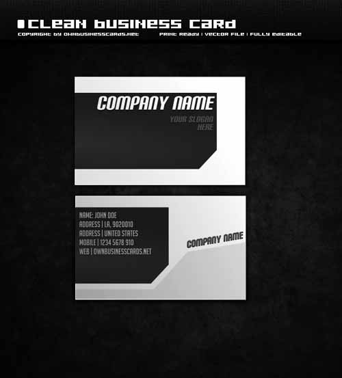 clean-business-card