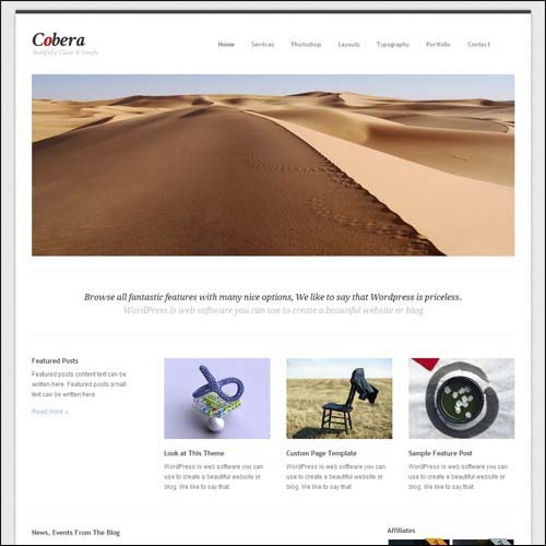 cobera-simple-and-clean-premium-wordpress-theme