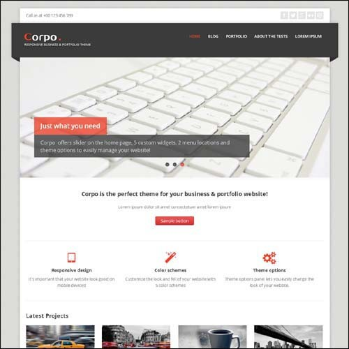 corpo-free-responsive-wordpress-theme