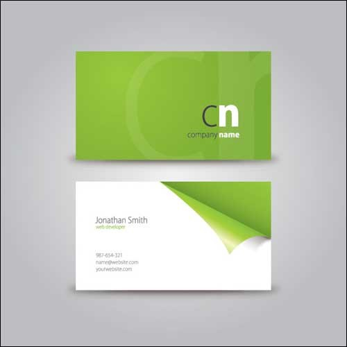 curled-corner-business-card
