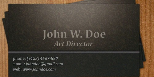 dark-business-card