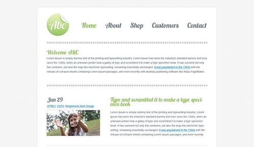 free-html5-responsive-template