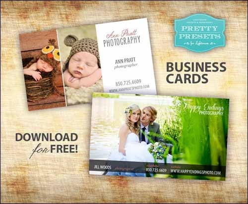 free-photographer-business-cards