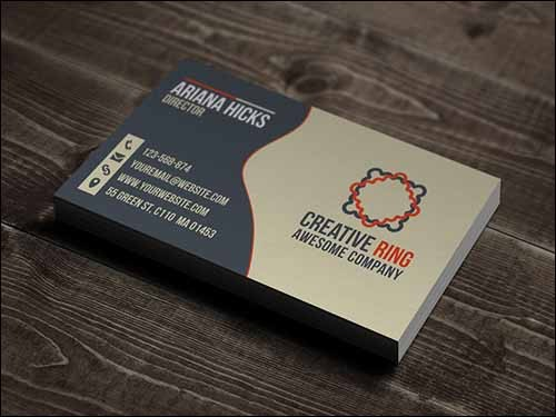 free-psd-creative-ring-business-cards