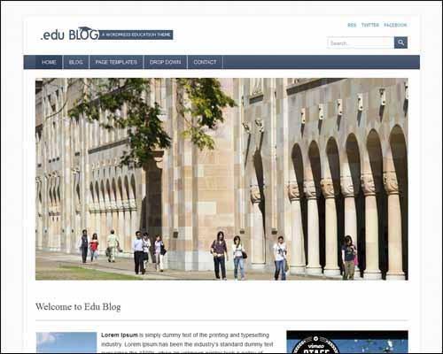 free-wordpress-theme-edublog