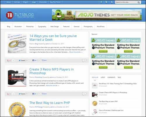 free-wordpress-theme-tutsblog