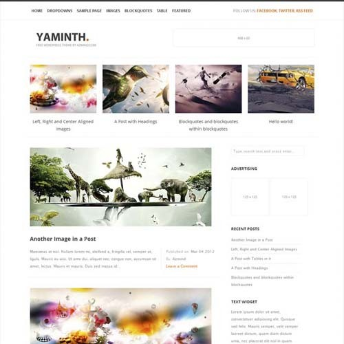 free-wordpress-theme-yaminth
