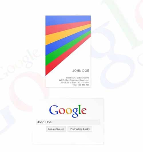 google-business-card