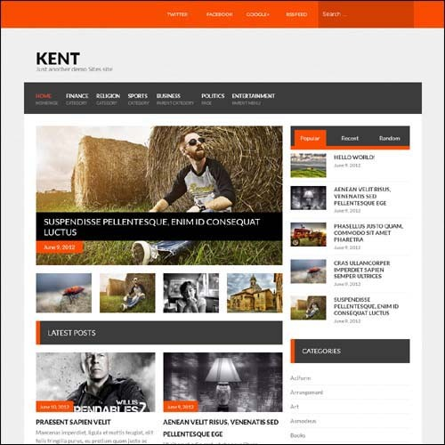 kent-wordpress-theme