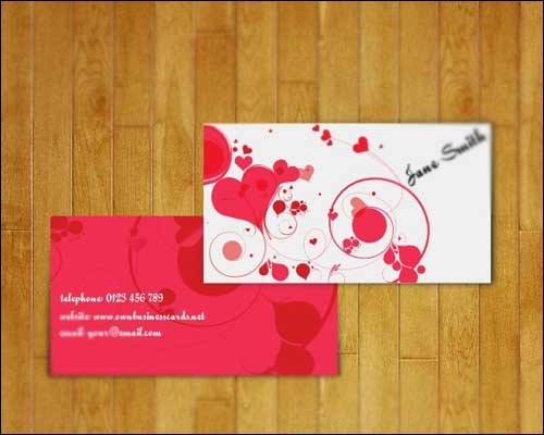 lovely-business-card-for-women