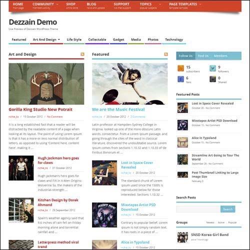 mesocolumn.free.wordpress.theme-dezzain