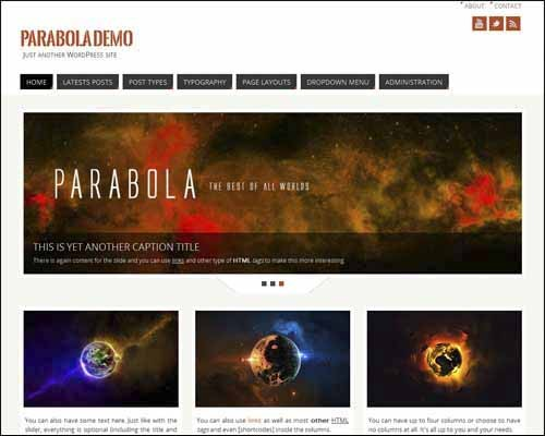 parabola-free-wordpress-theme
