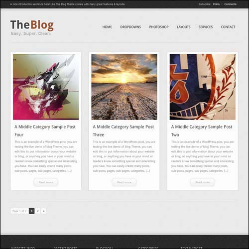 the-blog-free-premium-wordpress-theme