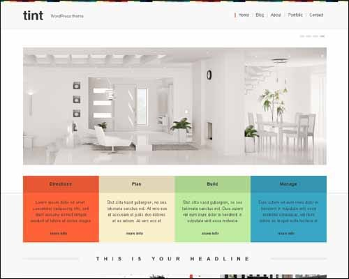 tint-free-portfolio-wordpress-theme
