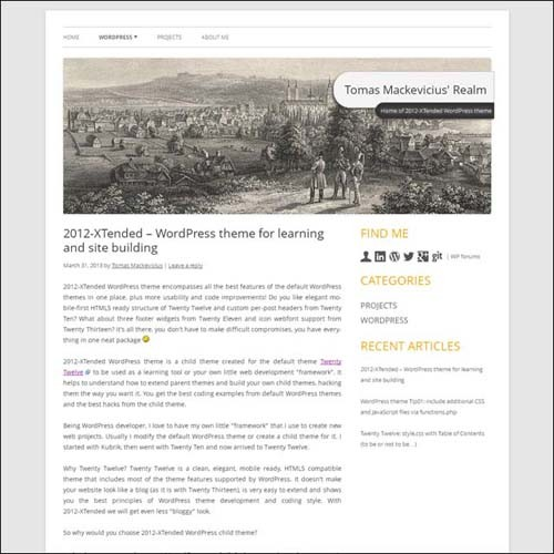 twentytwelve-xtended-wordpress-theme-for-learning-and-site-building