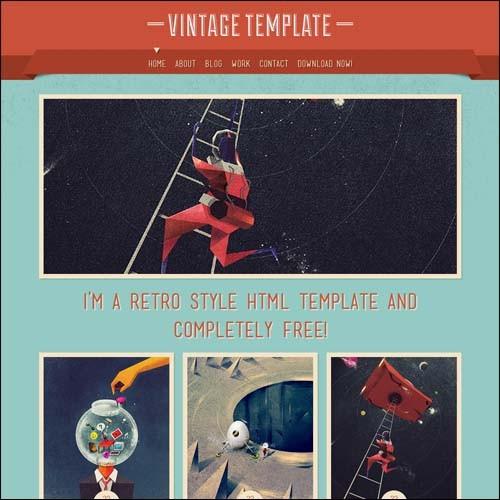 vintage-html-template