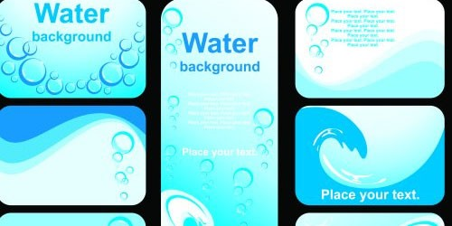 water-business-card