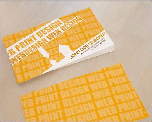 yellow-business-card-template