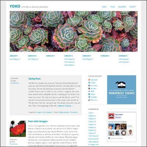 yoko.free.wordpress.theme