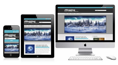 zBlogging-Free-Html5-Responsive-Template
