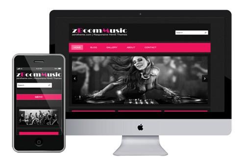 zBoomMusic-Free-Responsive-Html5-Template