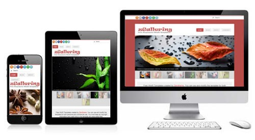 zGallering-Free-Html5-Responsive-Template